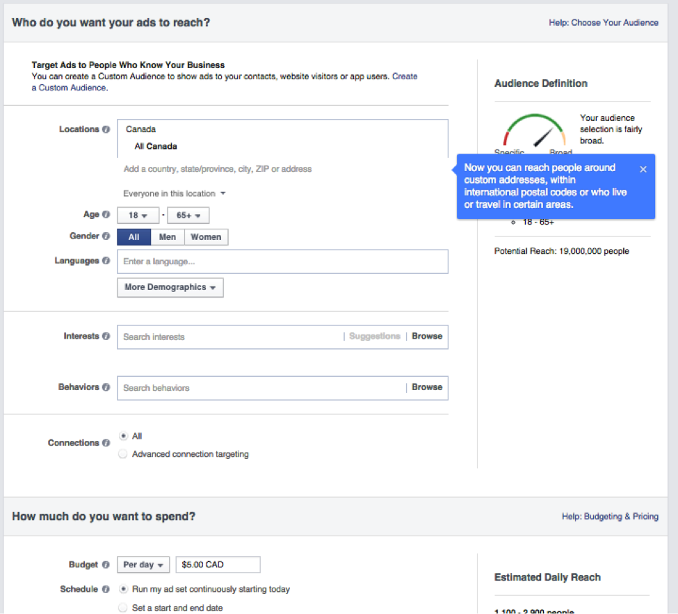 Facebook Advertising - How To Use Facebook Advertising Features - Ireland