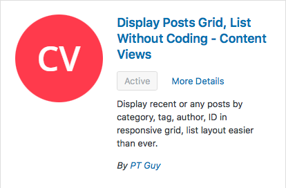 Display Posts Grid Plug-in, top plugins for WordPress